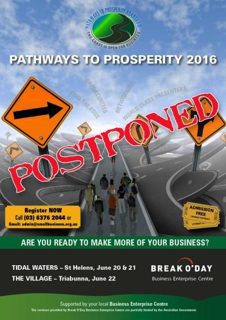 Pathways to Prosperity Roadshow